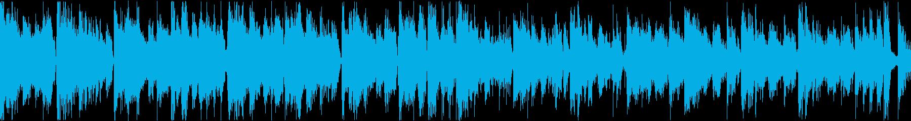 大人の雰囲気漂う滑らかなメロディの再生済みの波形