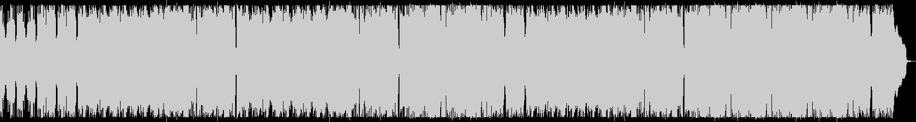 ラテン風リズムとトランペットのインスト曲の未再生の波形
