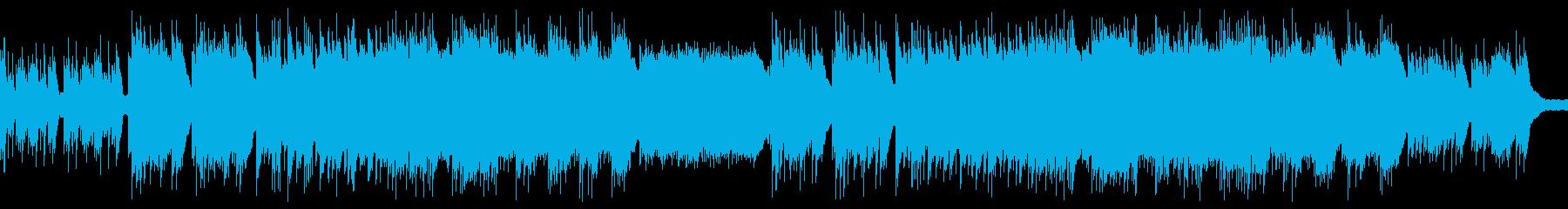 BGM019-02 ピアノ+ギターの穏…の再生済みの波形