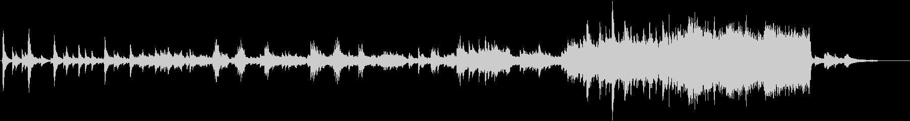 ピアノ オーケストラ 感動 ノスタルジーの未再生の波形