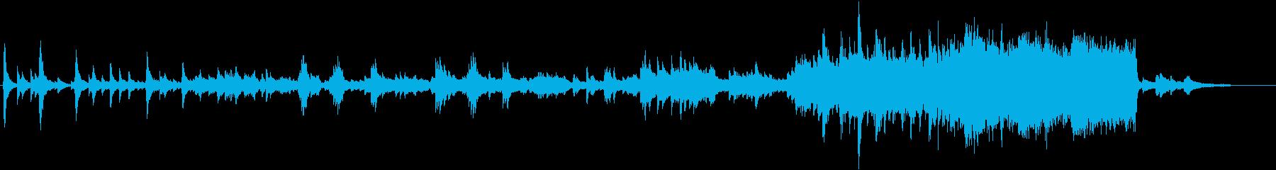 ピアノ オーケストラ 感動 ノスタルジーの再生済みの波形