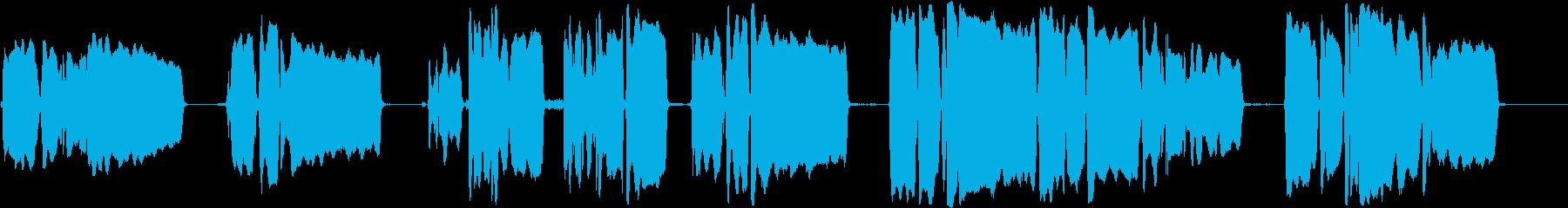 トランペット:最後の投稿、プレイの...の再生済みの波形