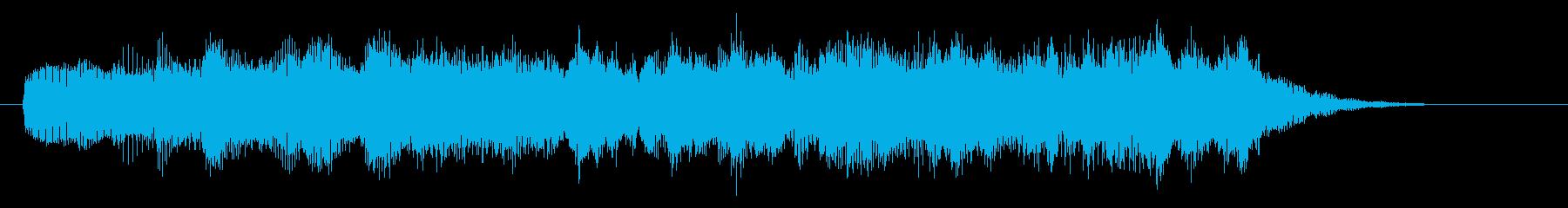 ピアノ/重厚・高級・映画感のあるSEの再生済みの波形