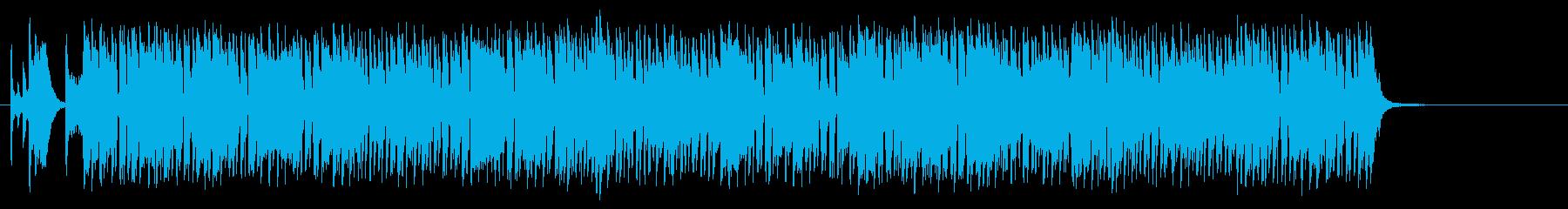 スリル感のあるコミカルファンク/ポップの再生済みの波形