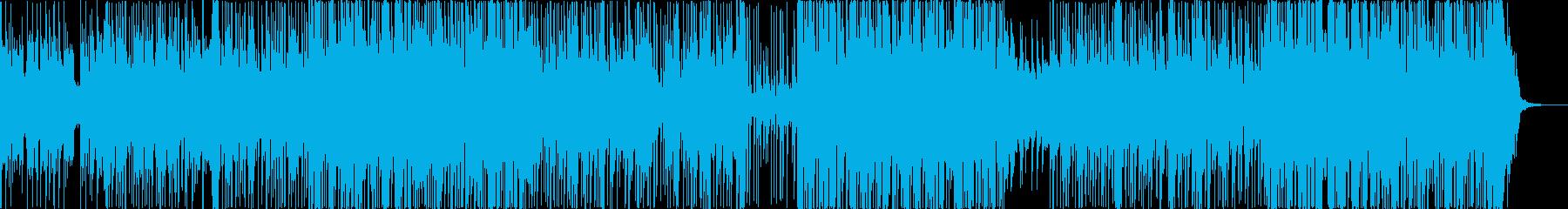 森の中にいるようなインストポップスの再生済みの波形