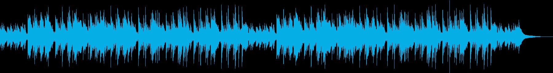 ピアノ 幻想 残響 寂しげの再生済みの波形