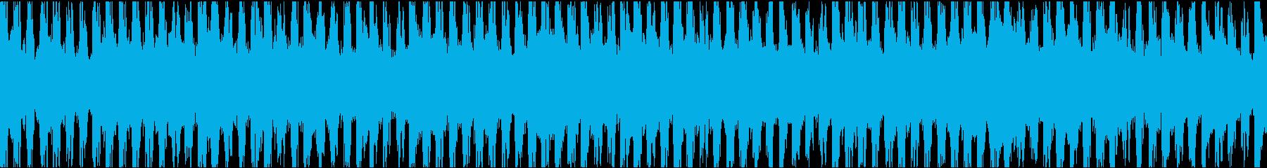 キラキラしたシンセの45秒ループ 買い物の再生済みの波形
