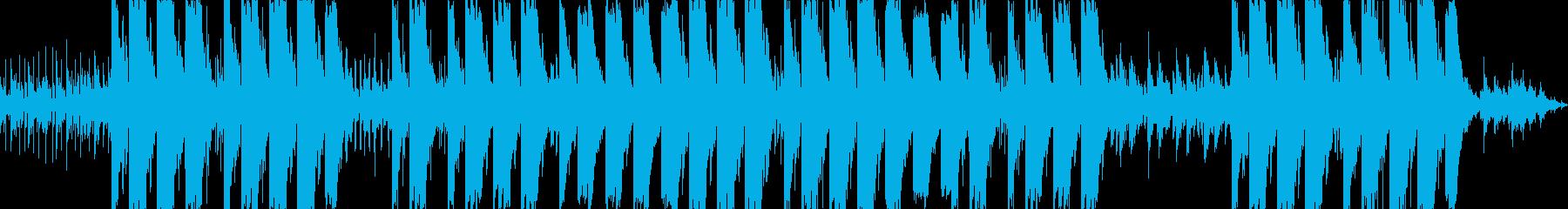 陽気なダンサブルアフロビートの再生済みの波形