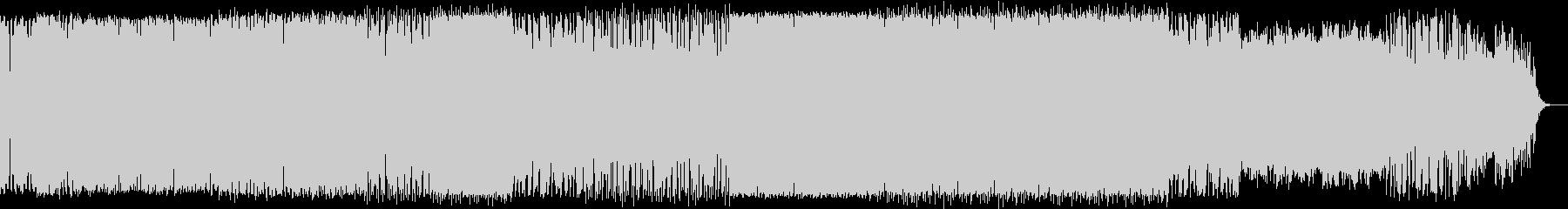 オルガンとシンセソロ入りの深海イメージ曲の未再生の波形