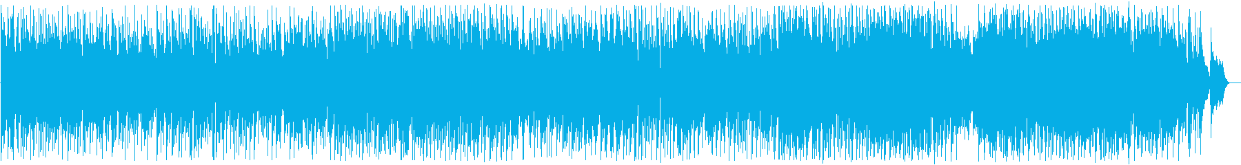 Delicate, clear and beautiful melody's reproduced waveform