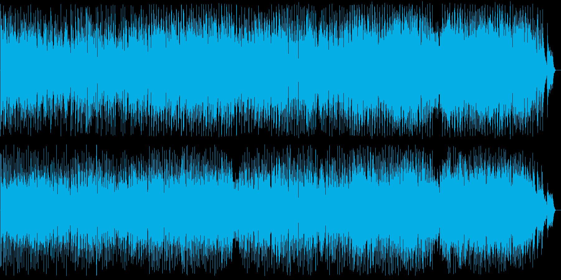 繊細で透明感ある綺麗なメロディーの再生済みの波形