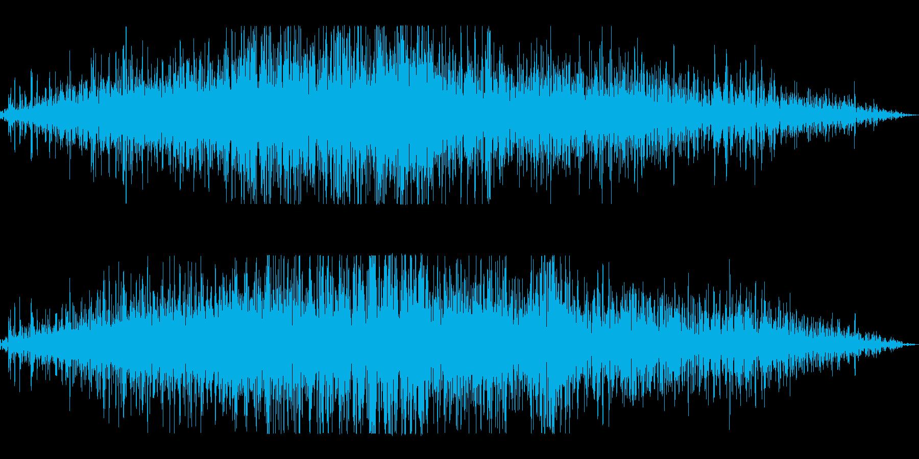 雪崩の再生済みの波形