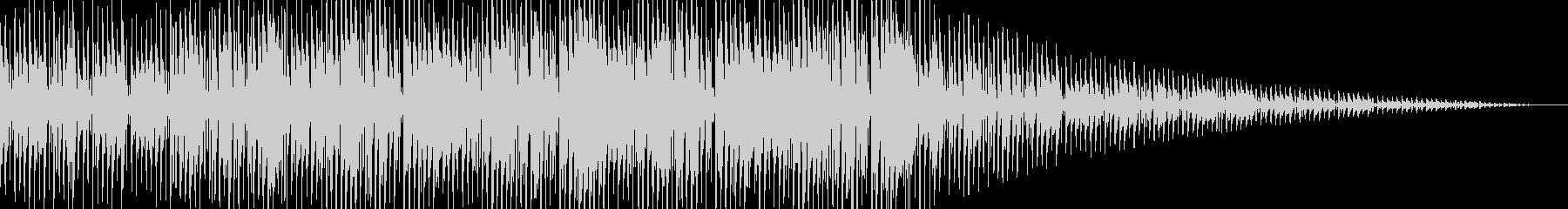 ダブでレゲェなジングル(シンセ音無し)の未再生の波形