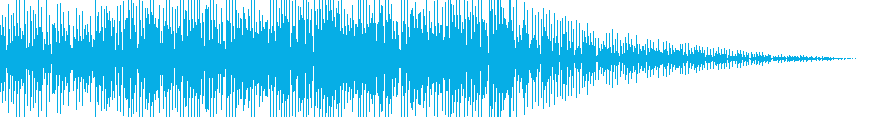 ダブでレゲェなジングル(シンセ音無し)の再生済みの波形