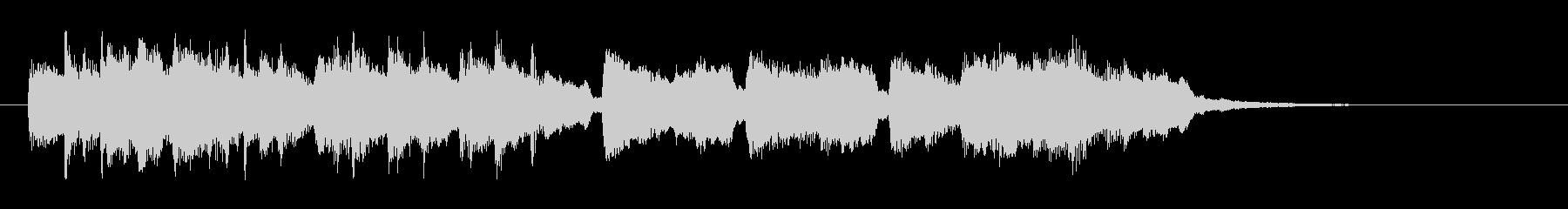 チェンバロとストリングスのアンサンブルの未再生の波形