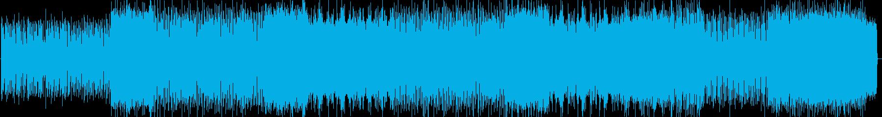 民族音楽 エレクトロニカの再生済みの波形