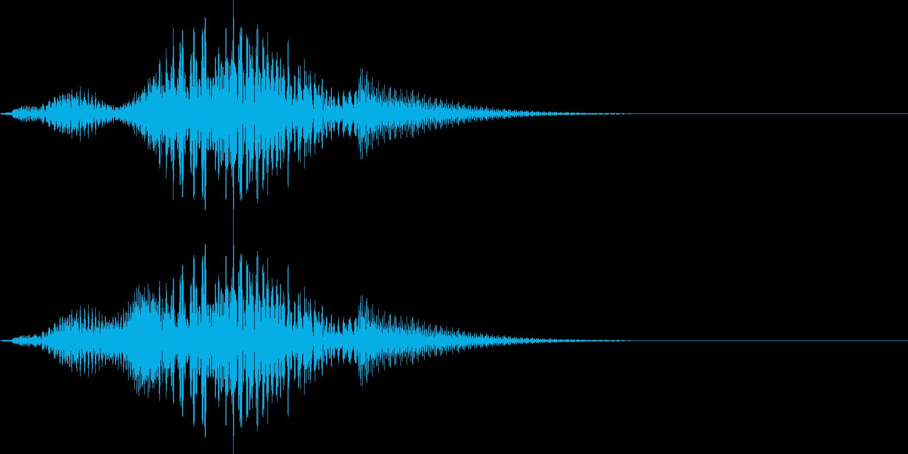 コミカルで超かわいいサウンドロゴ の再生済みの波形
