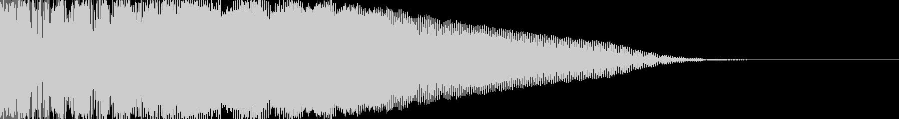 ドーン/ブーン/映画風/インパクトの未再生の波形