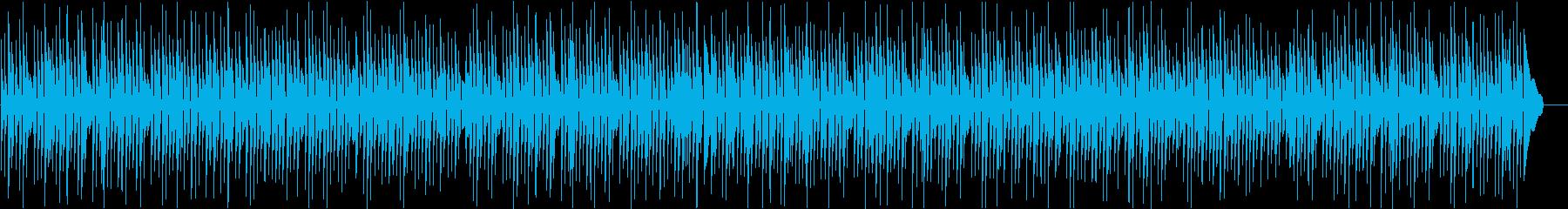 三線の音色が明るいのんびりした沖縄BGMの再生済みの波形