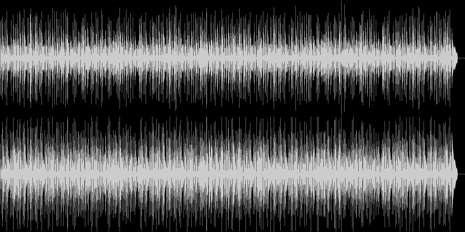 三線の音色が明るいのんびりした沖縄BGMの未再生の波形