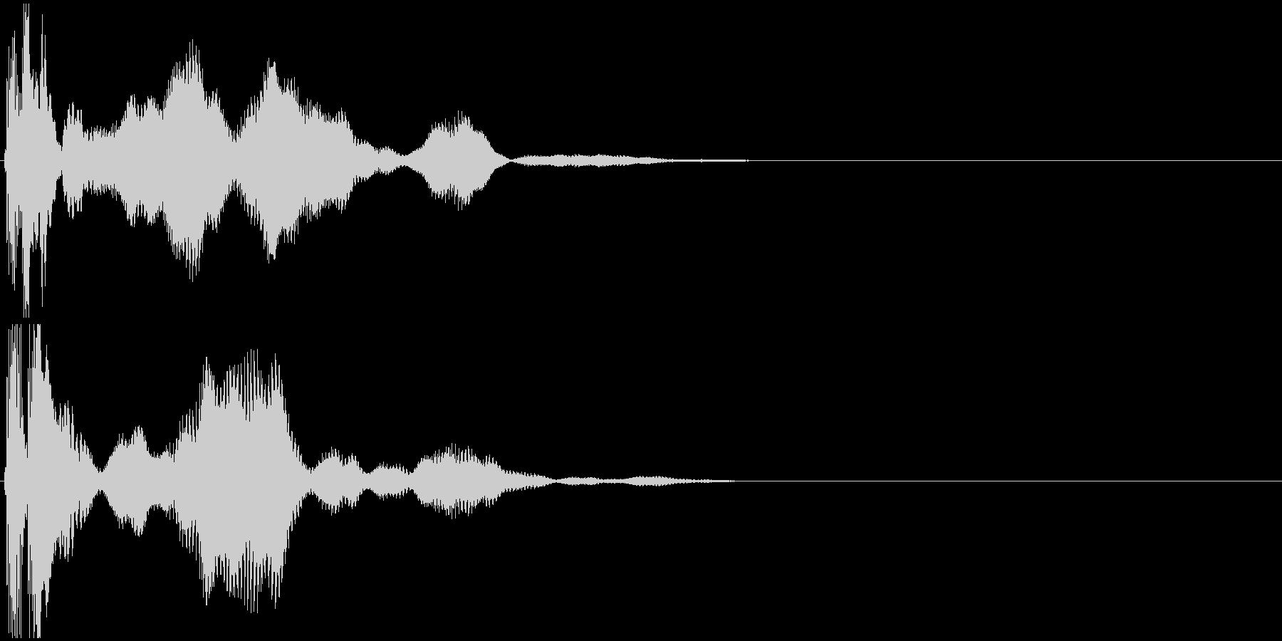 「シールド」SF/シールド起動_002の未再生の波形