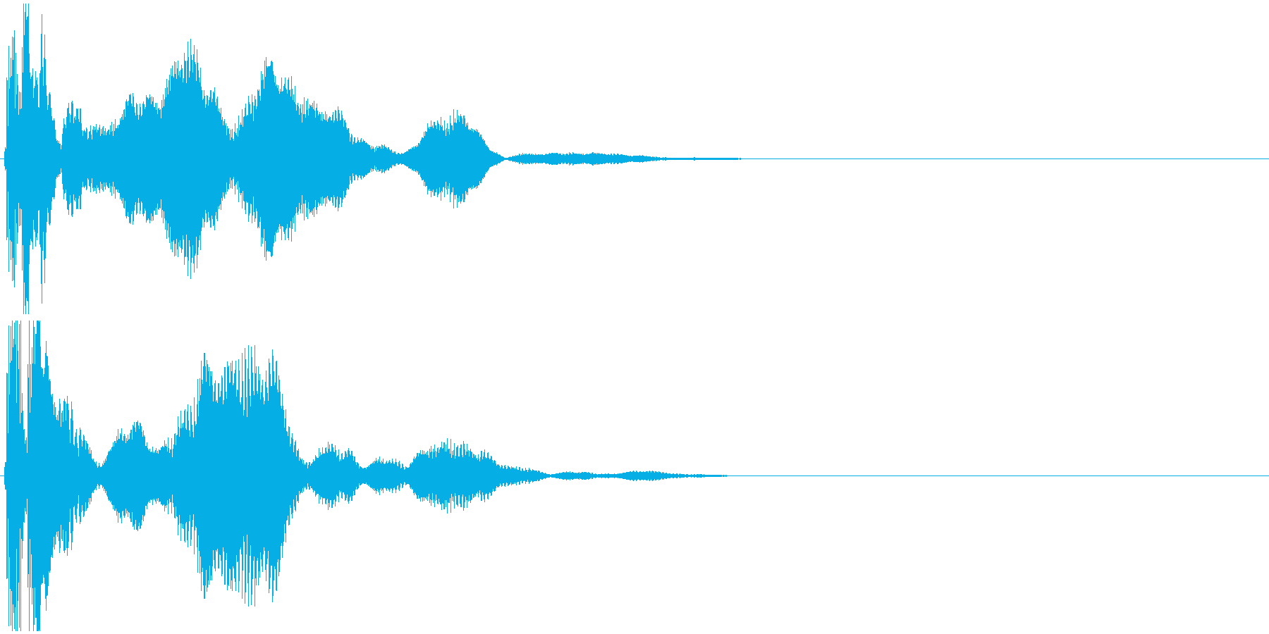 「シールド」SF/シールド起動_002の再生済みの波形