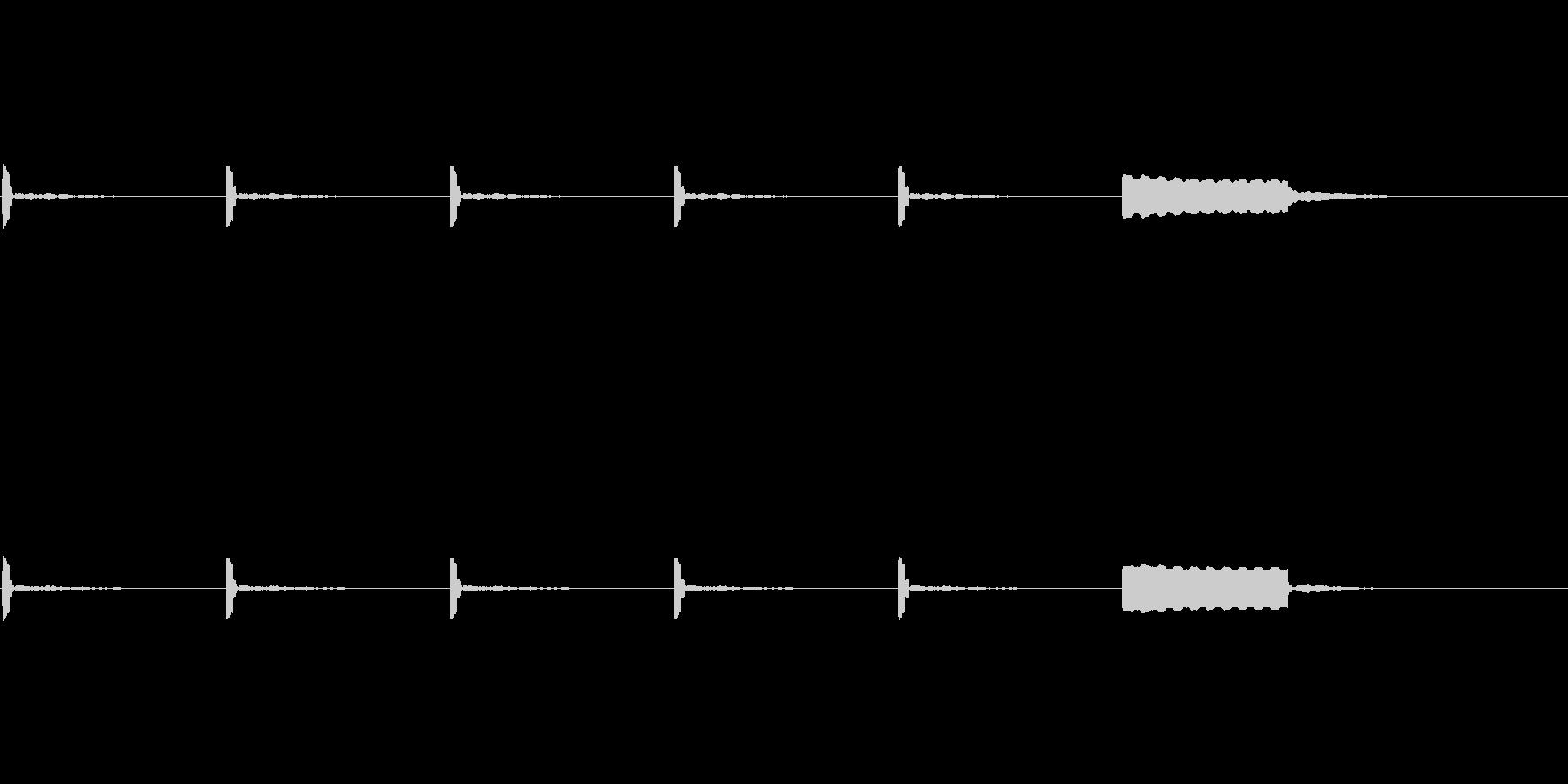 【カウントダウン02-3】の未再生の波形