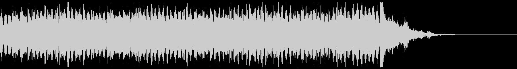 電車の発車メロディー 発着音の未再生の波形