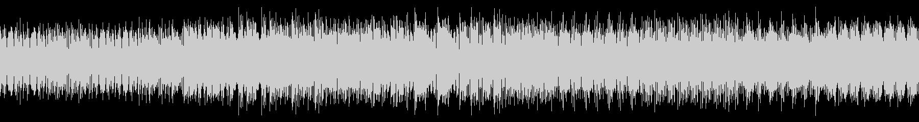 シンプル・ファンキーなディスコな曲の未再生の波形