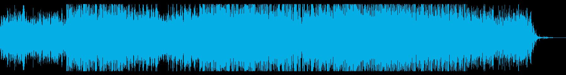 ダークで幻想的なシネマアンビエントの再生済みの波形