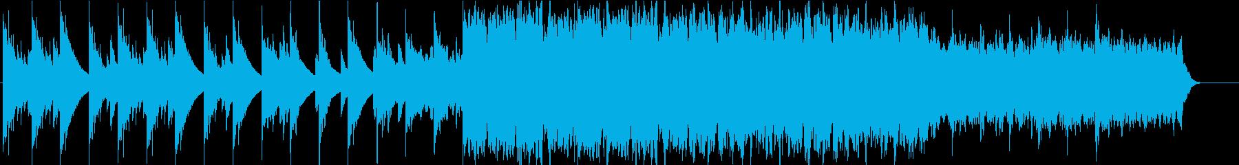 淡い想い・綺麗で切ないハープのBGMの再生済みの波形