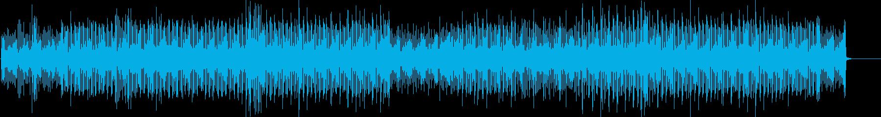 電子楽器。 「危険」要素を伴うアク...の再生済みの波形