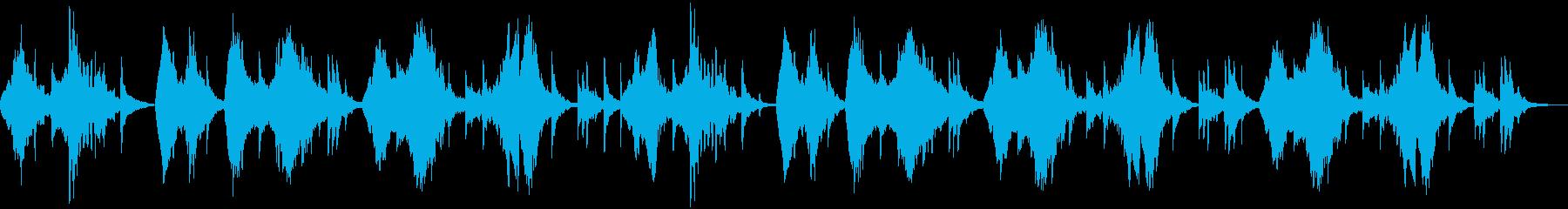 二胡と琵琶による古風な中国風のBGMですの再生済みの波形
