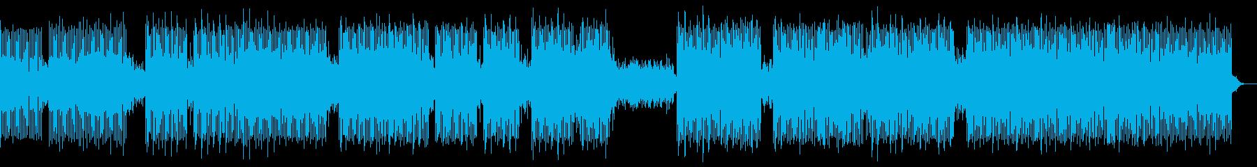 雰囲気。電子パルスと遠くのボーカルを課すの再生済みの波形