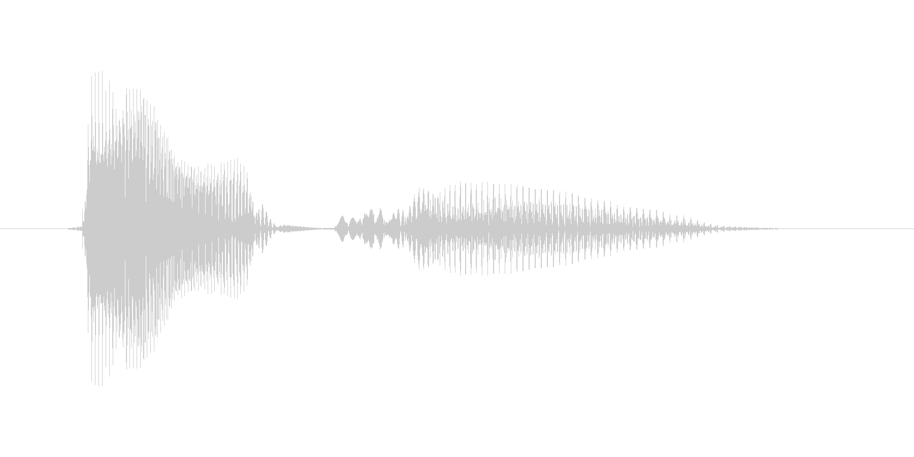 APRIL(エイプリル・April・4…の未再生の波形