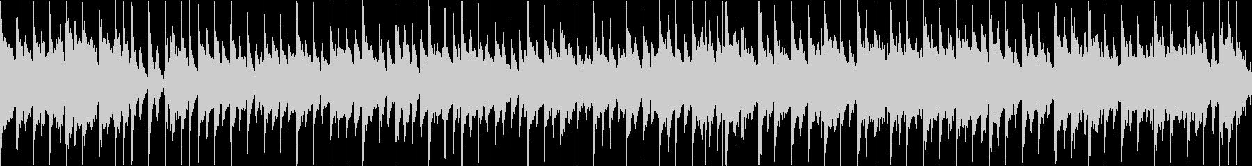 楽しいジングルベル(ループ)の未再生の波形