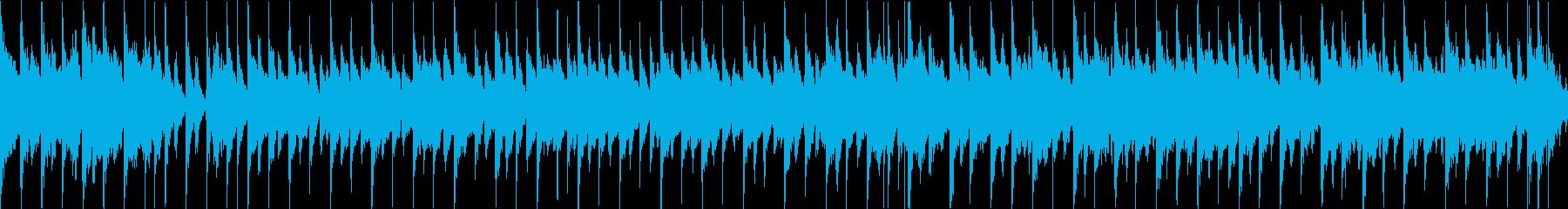 楽しいジングルベル(ループ)の再生済みの波形