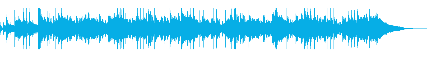リラックス/深海/睡眠/ヒーリング/夢の再生済みの波形