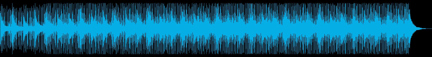 【キック抜】クールで落ち着いたEDMの再生済みの波形