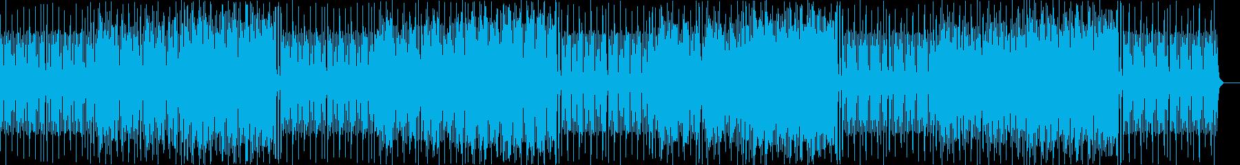 ピチカートとトランペットの可愛いマーチの再生済みの波形