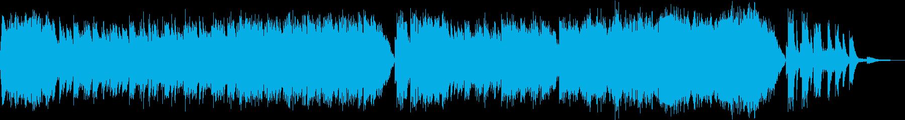 モデルルーム用BGM3の再生済みの波形