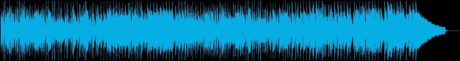 エキサイティングでクールなクラブジャズの再生済みの波形