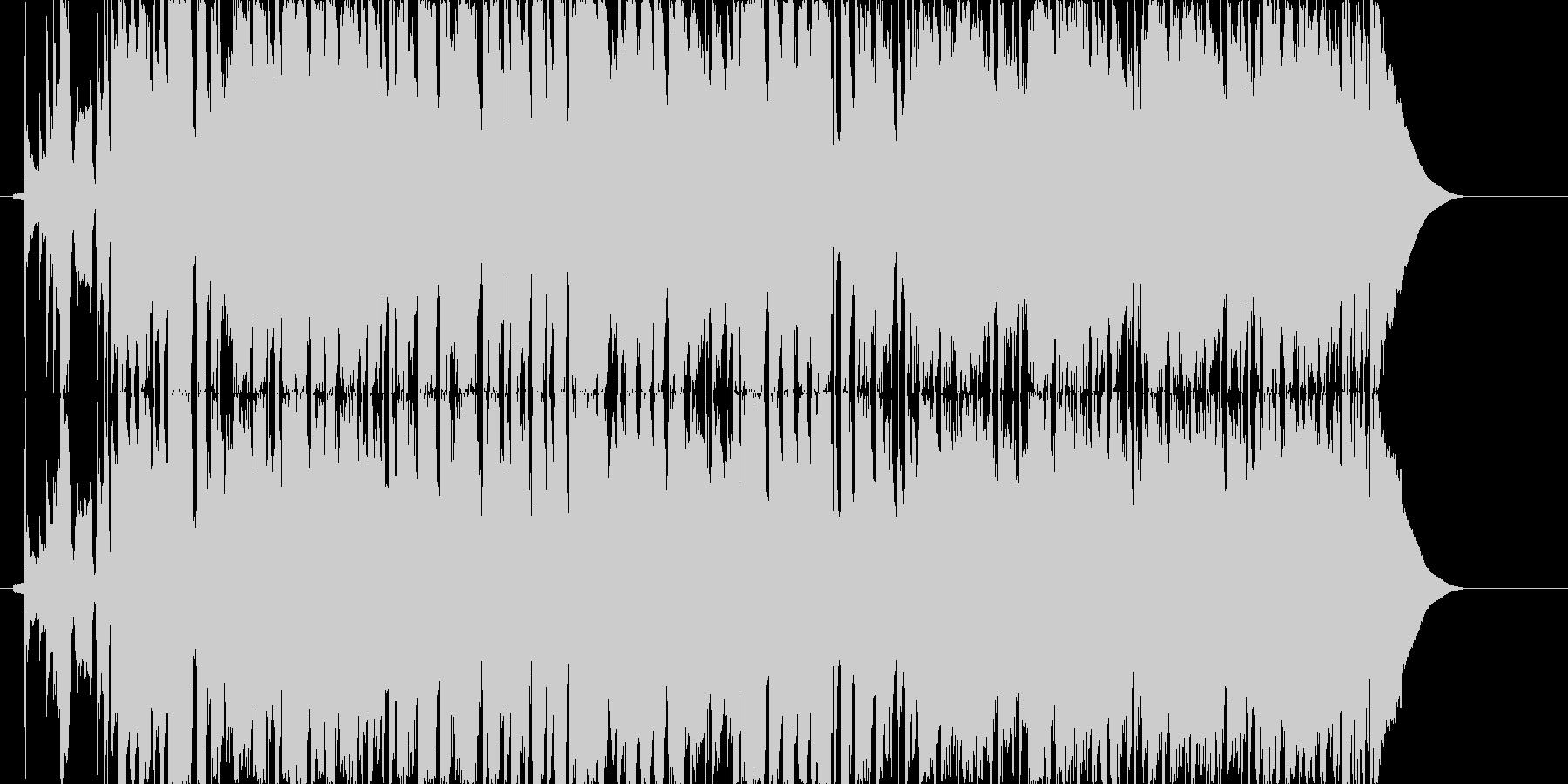 男性ボーカルの歌ものです。ウェディング…の未再生の波形