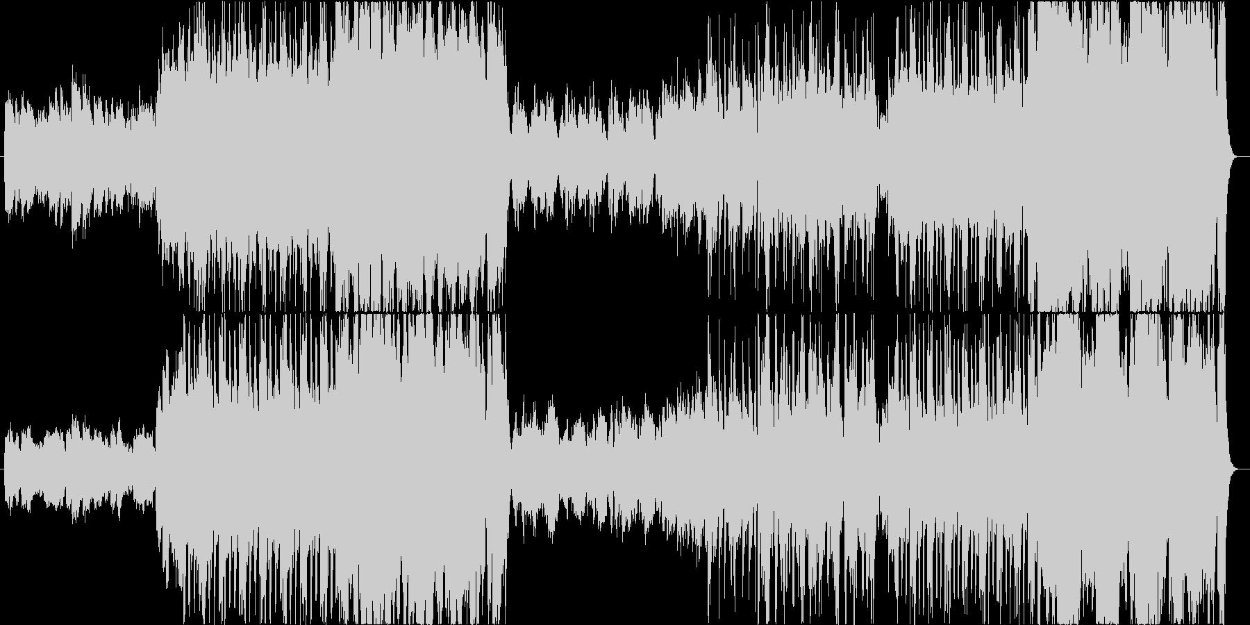 オーケストラ風の曲です。の未再生の波形