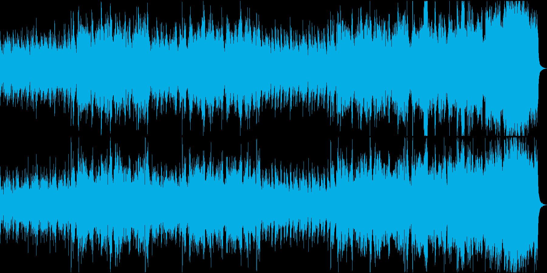 昭和ノスタルジィ・胡弓と和楽器のBGMの再生済みの波形