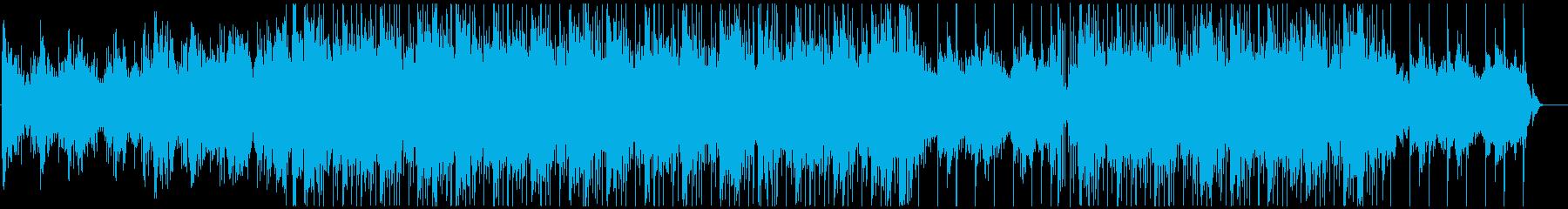 癒やしのダウンテンポの再生済みの波形