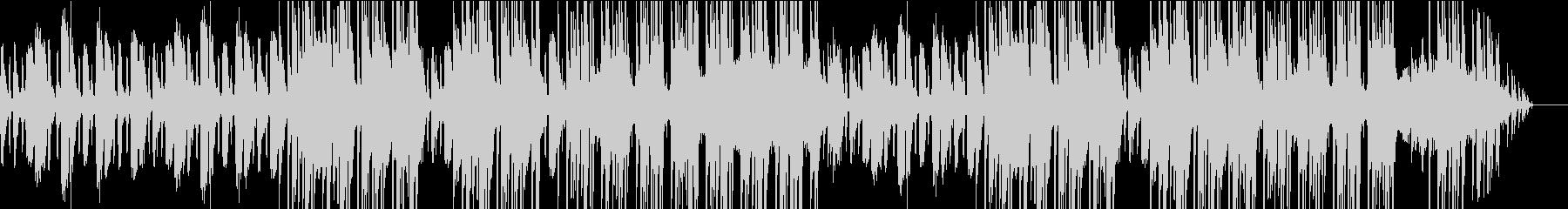 優しいストリングスとピアノが特徴的な曲の未再生の波形