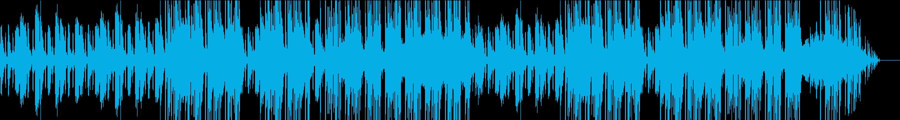 優しいストリングスとピアノが特徴的な曲の再生済みの波形