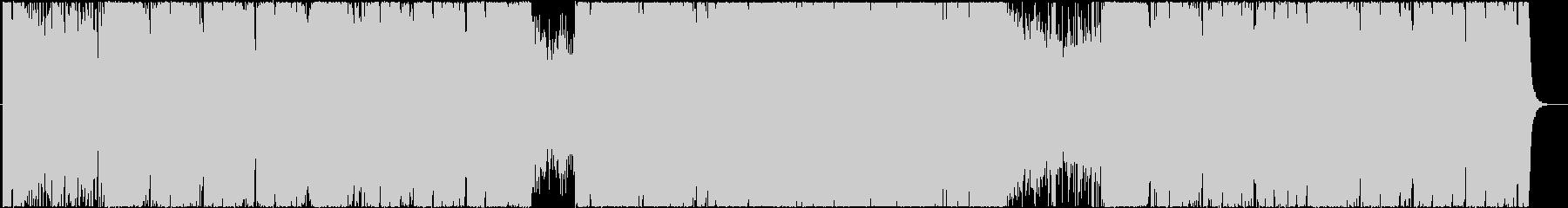 ゲーム 機械・工場ステージ風BGMの未再生の波形