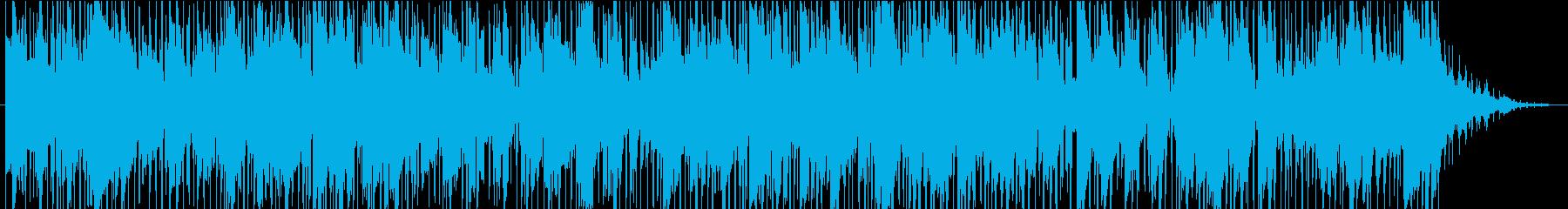 お洒落で夜のムードの大人なスムースジャズの再生済みの波形